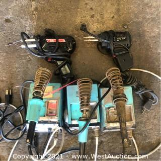 (5) Soldering Guns And Soldering Stations