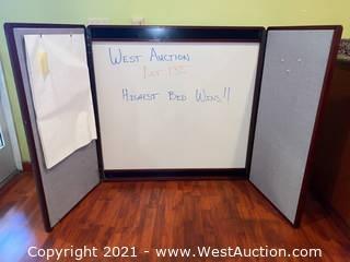 Wall Mount Presentation Board