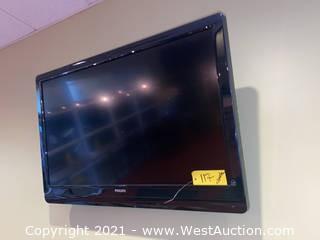 "Philips 42"" 1080p LCD HD TV & Wall Mount"
