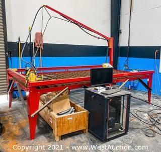 Samson 510 CNC  5' x 10' Plasma Table with Control Software & Computer