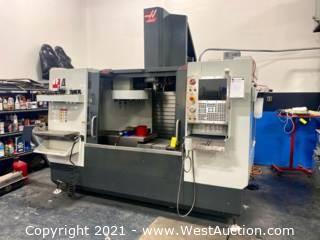 2017 Haas VF-4 CNC Mill