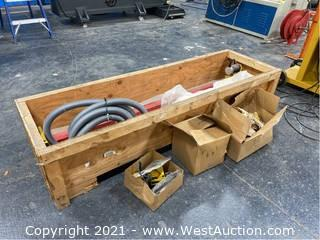 Plasma Cutter 6' Gantry With 3D Router, Engraver, Plasma Pipe Cutter
