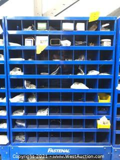 Fastenal Organizer With Assorted Hardware
