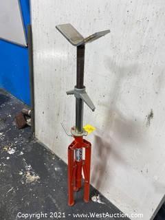 Ridgid VF99 V Head Folding High Pipe Stand