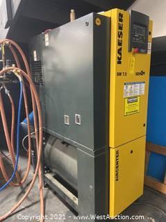 Kaeser Aircenter SM7.5 Air Compressor