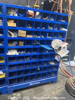 Fastenal Organizers With Assorted Hardware