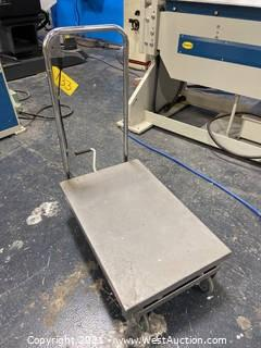 Pittsburgh Hydraulic Table Cart