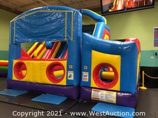 3-Piece Obstacle Course and Slide