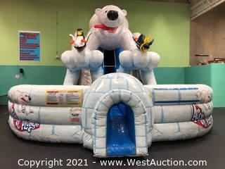 Polar Bear Dual Slide Inflatable