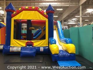 Bounce House/Dry Slide Combo