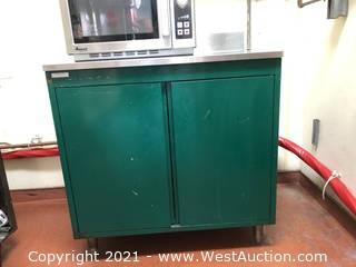Stainless Steel Cabinet/Table