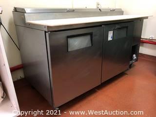 Deli Prep Table/Refrigerator