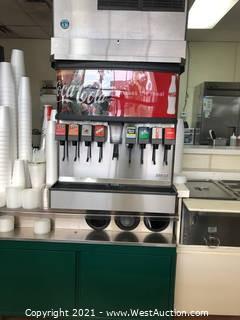 8-Trigger Coke Fountain Dispenser