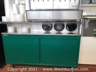 Beverage Dispenser Table