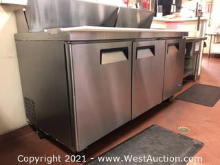 Three Door Prep Refrigerator