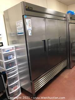 True 3-Door Refrigerator