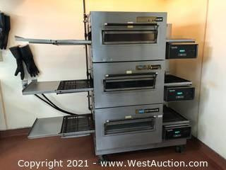 3-Stacked Conveyor Ovens