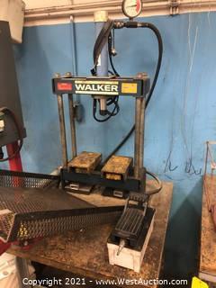 Walker Hydraulic Press