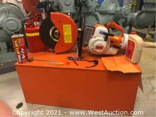 Stihl TS 350 Cut Off Saw with Accessories