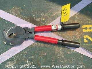 FCI Electric Ratchet Cable Cutter