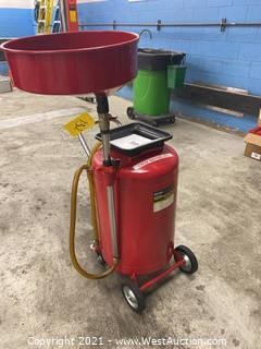 ATD 30-Gallon Pressurized Oil Drain