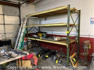 (1) Section of 6' Pallet Racking (Racking ONLY)