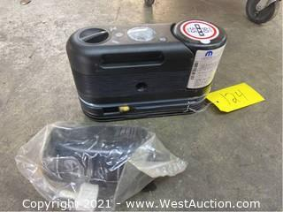 Tire Air Compressor With Tire Sealant