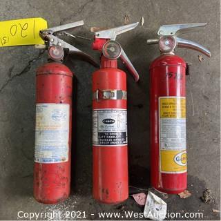 (3) Fire Extinguishers