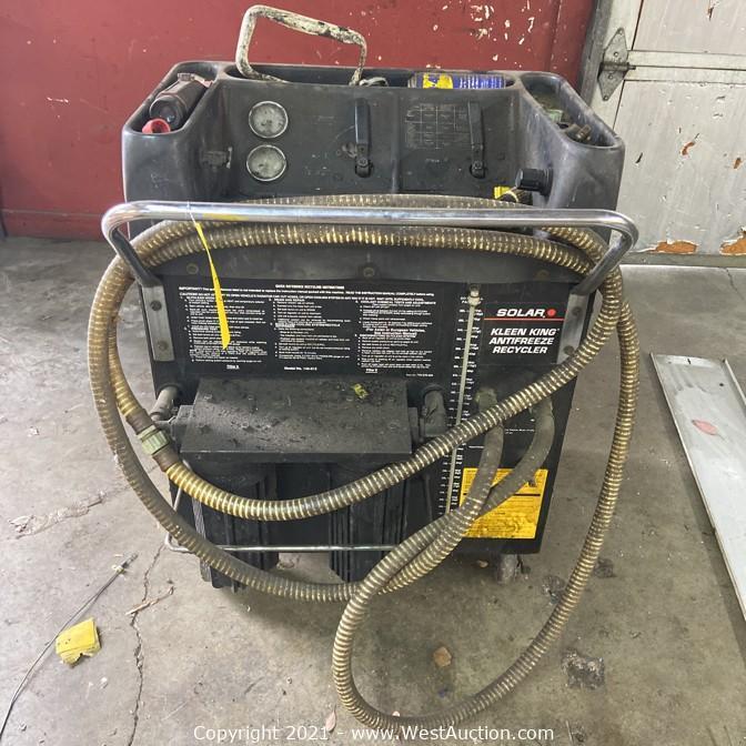 Complete Liquidation of Automotive Repair Shop in Santa Rosa, CA