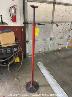 Under Hoist Support Stand