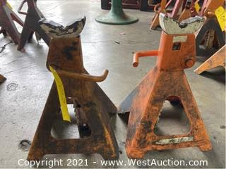 (2) 6 Ton Jack Stands