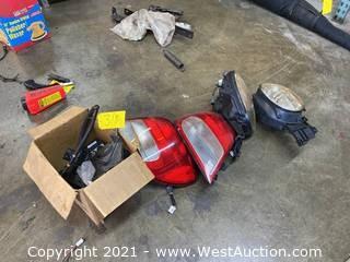 03' Subaru WRX Headlights, Tail Lights, Electrical Parts