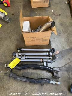 03' Subaru WRX Exhaust Pipe, Control Arm Mounts, Fuel Pump, Wide Tire Control Arms, Lateral Links