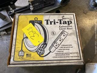 Tri-Tap Extension Cord Reel
