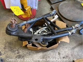 Fox Body Mustang Coilover Control Arms And Caster Camber Plates