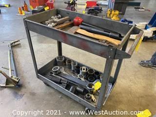 Metal Shop Cart (Cart Only)