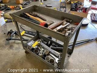 Contents of Cart; Subaru Socket, Assorted Tools, Hitch Balls