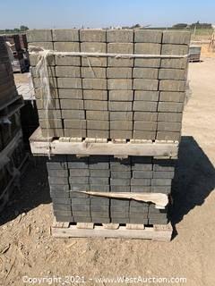 (3) Pallets of Cobble Stone Sonoma Blend Giant Pavers