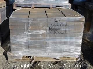 (3) Pallets of Cobble Stone Monterey Blend Pavers
