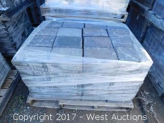 (3) Pallets of Carriage Stone Monterey Blend Giant Pavers