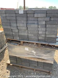 (2) Pallets of Carriage Stone Shasta Blend Rec Pavers