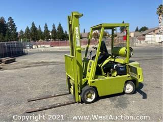 Clark C500 4650LB Propane Forklift