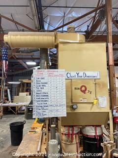 Quinones MFG. Dura Q 7.5 Dust Collection System
