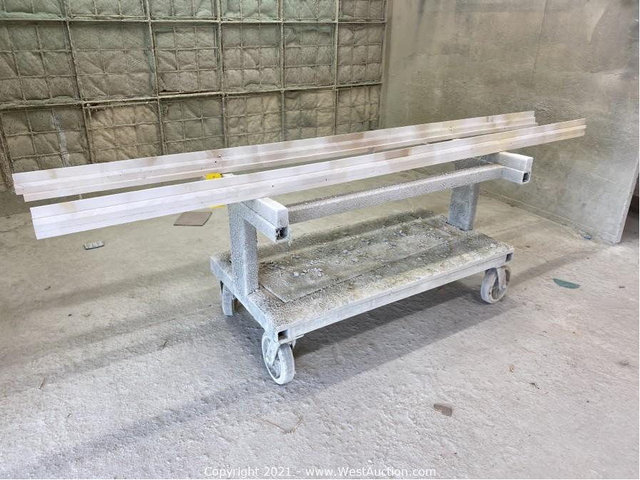 Online Auction of Wood Specialties Cabinetry and Woodworking Equipment
