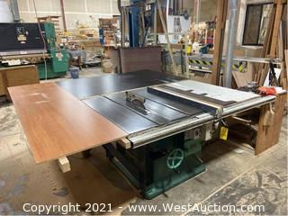 Jonsereds Table Saw With Table Extensions