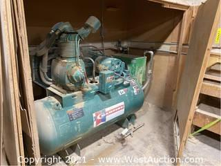 Champion 120 Gallon Air Compressor With Speedaire Aftercooler