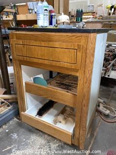 Floor Cabinet with Drill Bits, Tools and More