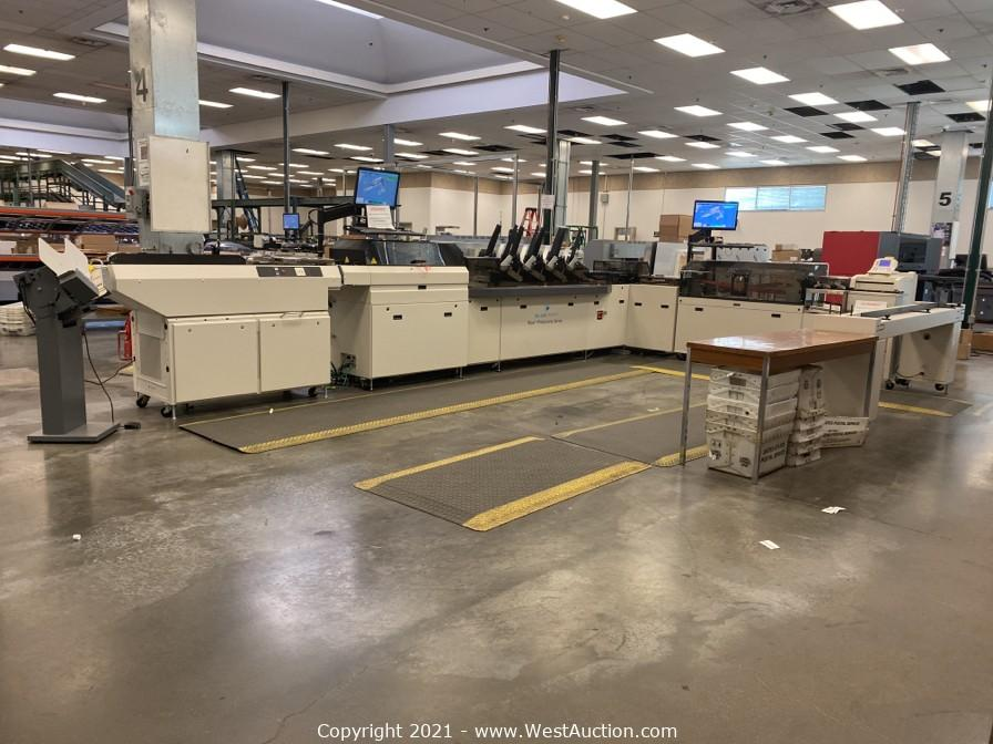 Online Auction of BlueCrest Rival Productivity Series Inserting System