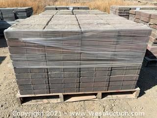 (4) Pallets of Carriage Stone Sonoma Blend Giant Pavers