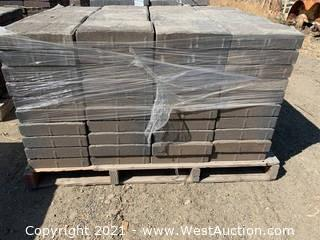 (4) Pallets of Carriage Stone Monterey Blend Rec Pavers
